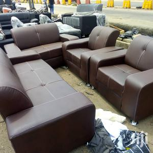 Quality 7 Seater Leather Sofa for Sale | Furniture for sale in Lagos State, Surulere