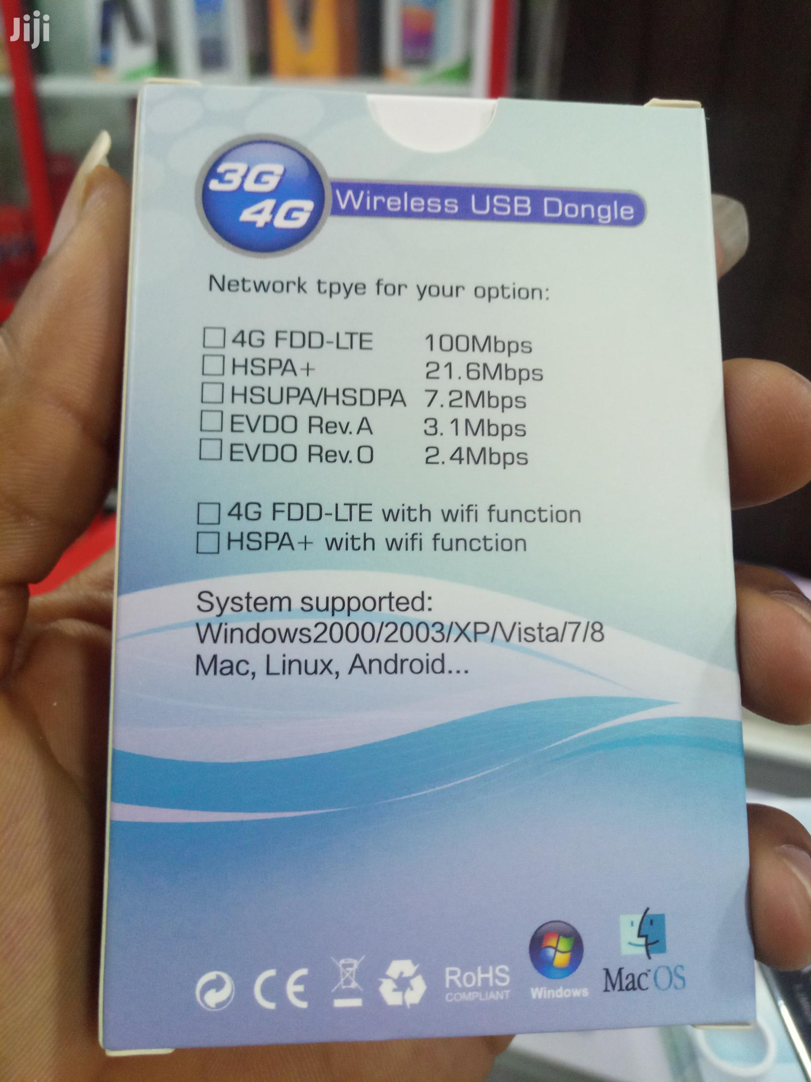 3g/4g Wireless USB Dongle(Modem)   Networking Products for sale in Ikeja, Lagos State, Nigeria