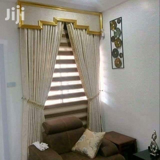 Nice Curtains for Livingroom and Bedrooms | Home Accessories for sale in Yaba, Lagos State, Nigeria