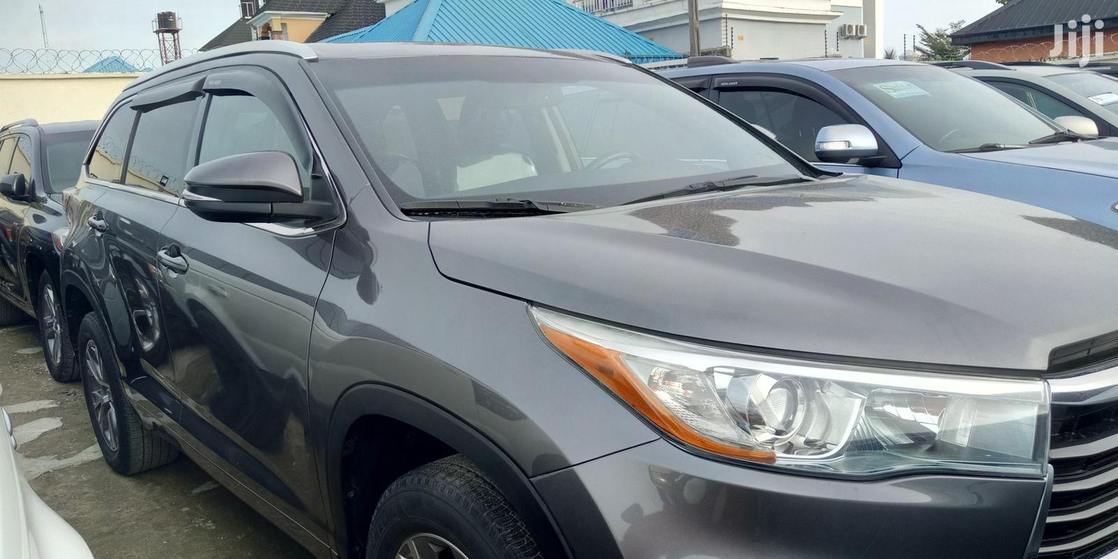 Toyota Highlander 2015 Gray | Cars for sale in Amuwo-Odofin, Lagos State, Nigeria