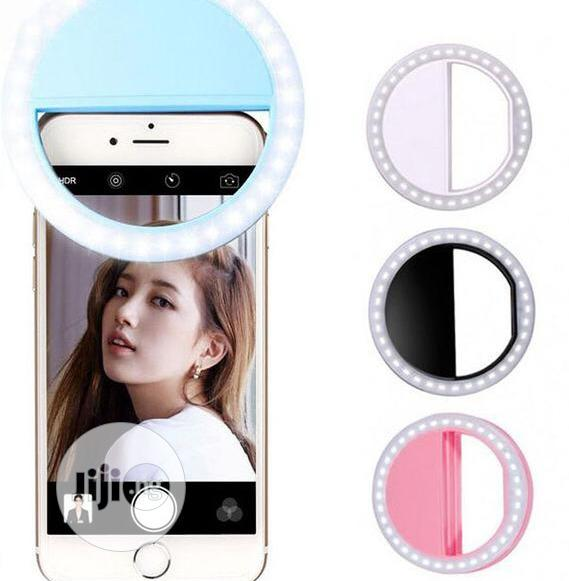 Selfie Ring Flash Light Rechargeable