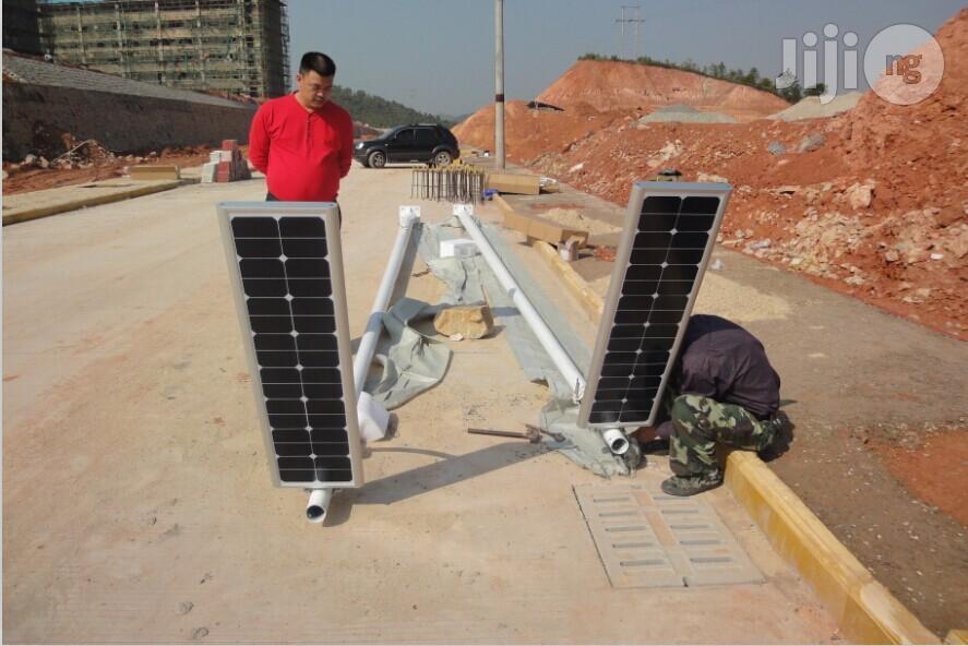 12 Watt Solar Street Light Quality Street Lamp   Solar Energy for sale in Wuse, Abuja (FCT) State, Nigeria