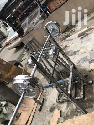 50kg Barbell | Sports Equipment for sale in Lagos State, Ibeju