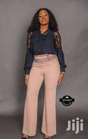 Long-sleeve Laced Blouse & Loose Fit Formal Trousers | Clothing for sale in Lagos State