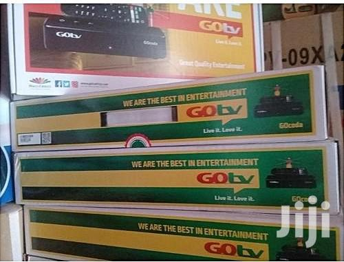 Gotv HD Decoder + Outdoor Antenna, 1 Month Free Subscription | Accessories & Supplies for Electronics for sale in Agboyi/Ketu, Lagos State, Nigeria