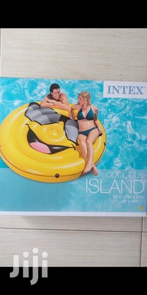 New Swimming Pool Cool Guy Emoji Island 2personsfloater | Sports Equipment for sale in Lagos State, Surulere