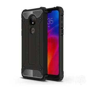 Moto G7 Power Magic Armor Combination Case Motorola (Black)   Accessories for Mobile Phones & Tablets for sale in Lagos State, Ikeja