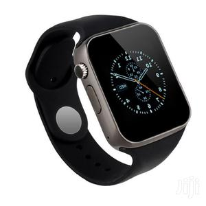 A1 Smartwatch Smart Watch Single Sim GSM, Bluetooth, Memory Card Slot | Smart Watches & Trackers for sale in Lagos State, Ikeja