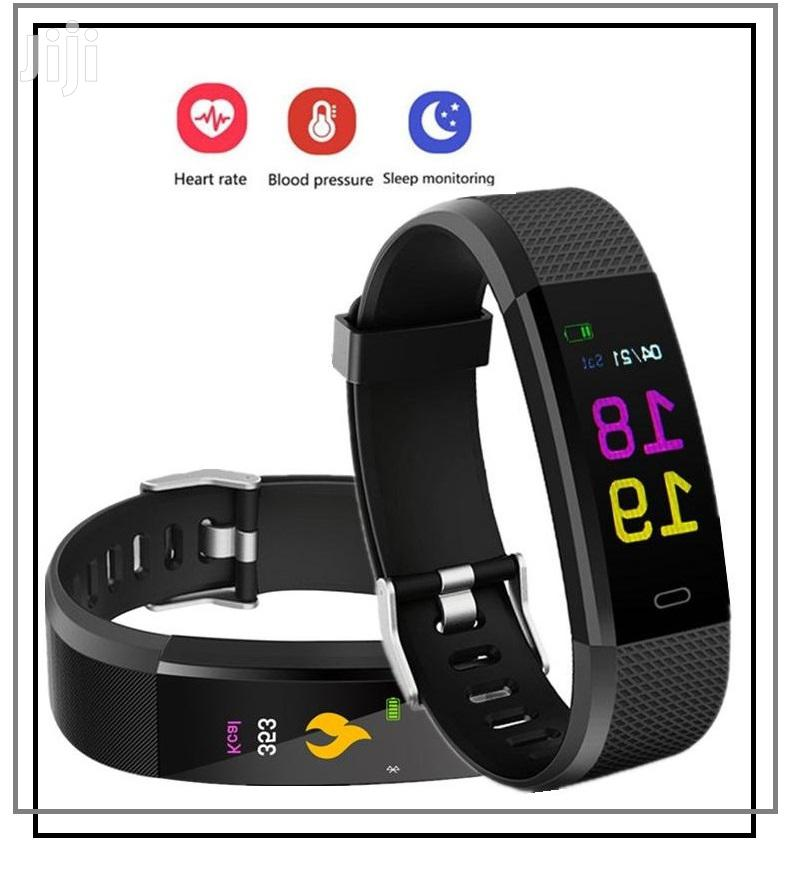 Smart Bracelet Fitness Band Smart Watch (Black)