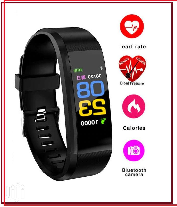 Smart Bracelet Fitness Band Smart Watch (Black)   Smart Watches & Trackers for sale in Ikeja, Lagos State, Nigeria