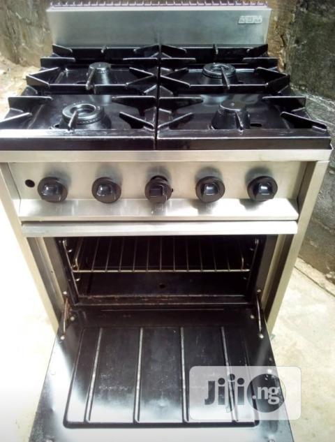 Industrial Gas Cooker ( 4 Burner)