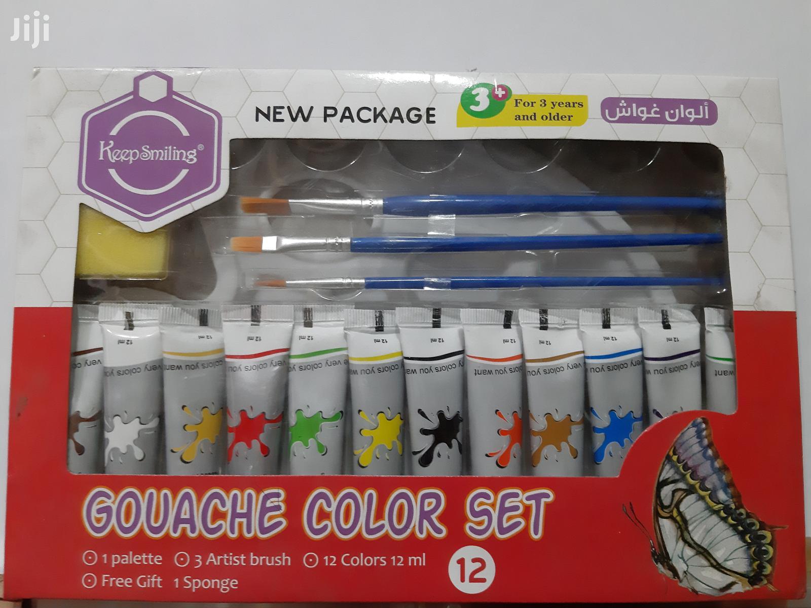 Gouache Colour Set