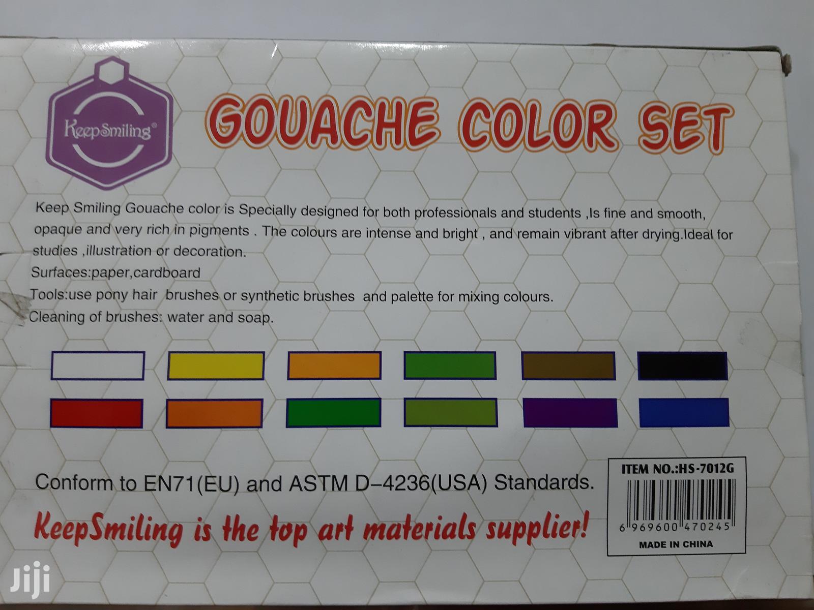 Gouache Colour Set | Arts & Crafts for sale in Ajah, Lagos State, Nigeria