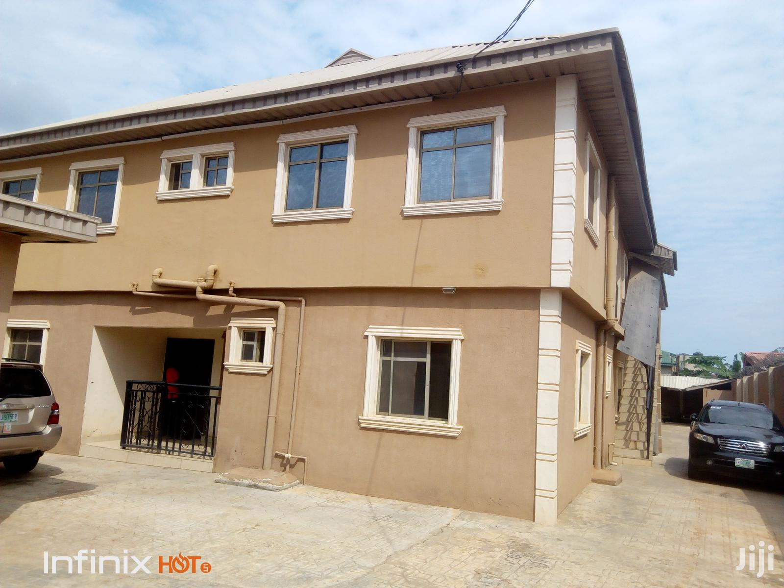 Standard & Clean 3 Bedroom Flat At Command Ipaja For Rent.