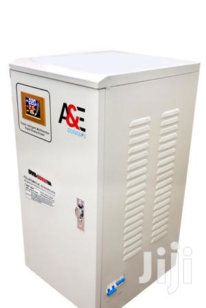 A&E 30KVA Central Relay Stabilizer Single Phase   Electrical Equipment for sale in Lagos State, Victoria Island