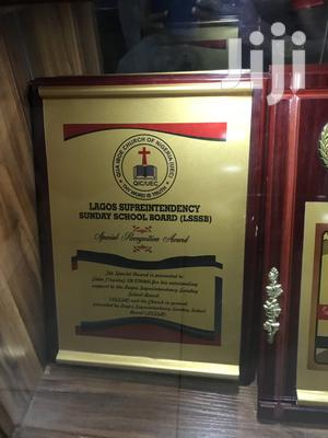 Award Plaque   Arts & Crafts for sale in Lagos State, Ikeja