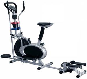 Orbitrac With Dumbbell, Stepper,Back Seat and Twister   Sports Equipment for sale in Lagos State, Surulere