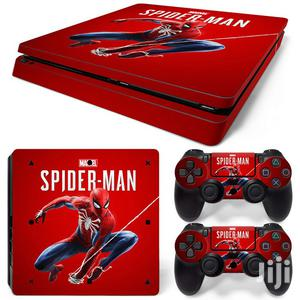 Spider Man Ps4 Slim Skin   Accessories & Supplies for Electronics for sale in Lagos State, Ifako-Ijaiye