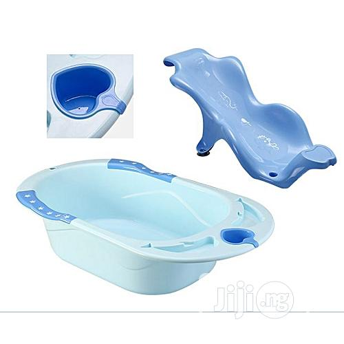 Generic 3 in 1 Baby Bathing Tubs +Seats +Water Cup Set