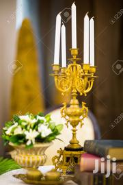 Golden Candle Holder | Home Accessories for sale in Lagos State, Ikeja