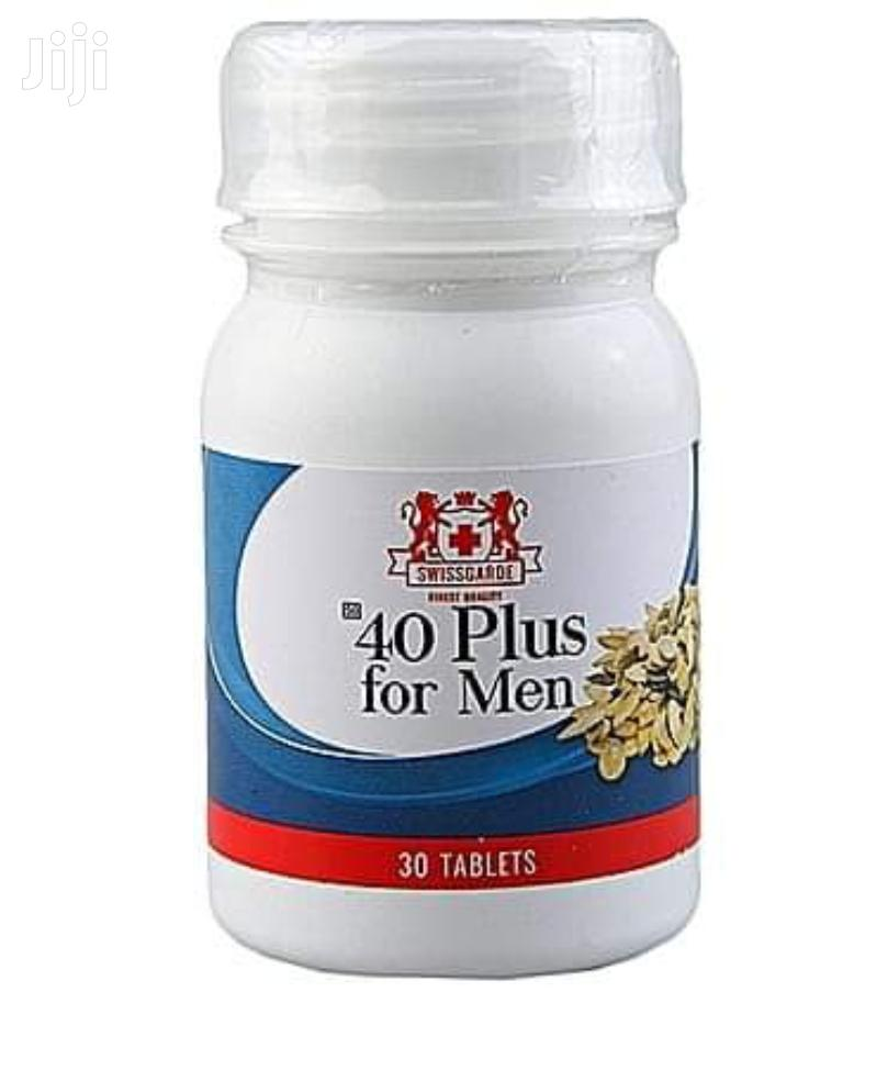 Swissgarde 40 Plus for Men (Prostrate N Erection Issues Anti Aging)