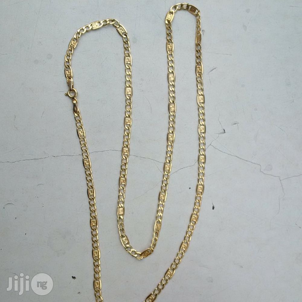 Pure ITALY 750 Solid 18krt Gold Fendi Design | Jewelry for sale in Lagos Island (Eko), Lagos State, Nigeria