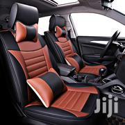 Brown And Black Leather Car Seat Covers | Vehicle Parts & Accessories for sale in Lagos State, Victoria Island