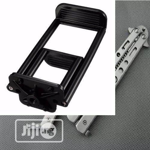 Tablet And Phone Holder Clip Mount For Selfie Stick And Tripod