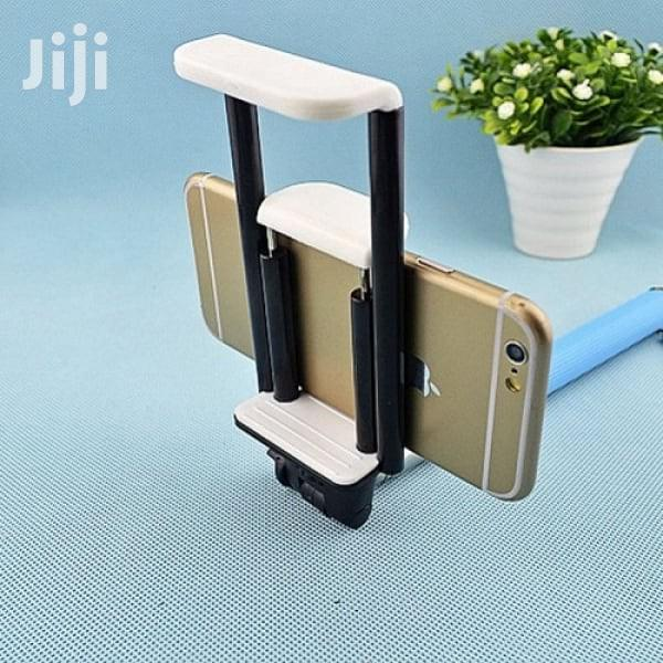 Tablet And Phone Holder Clip Mount For Selfie Stick And Tripod | Accessories for Mobile Phones & Tablets for sale in Surulere, Lagos State, Nigeria