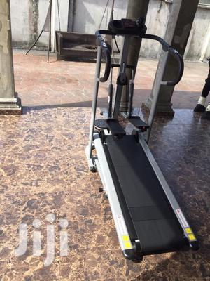 Manual Treadmill With Stepper | Sports Equipment for sale in Lagos State, Surulere