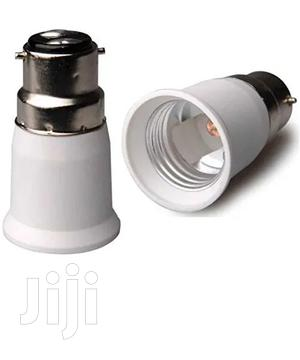 B22 Male Pin To E27 Female Srew Bulb Lamp Socket Converter Adapter | Electrical Equipment for sale in Lagos State, Surulere