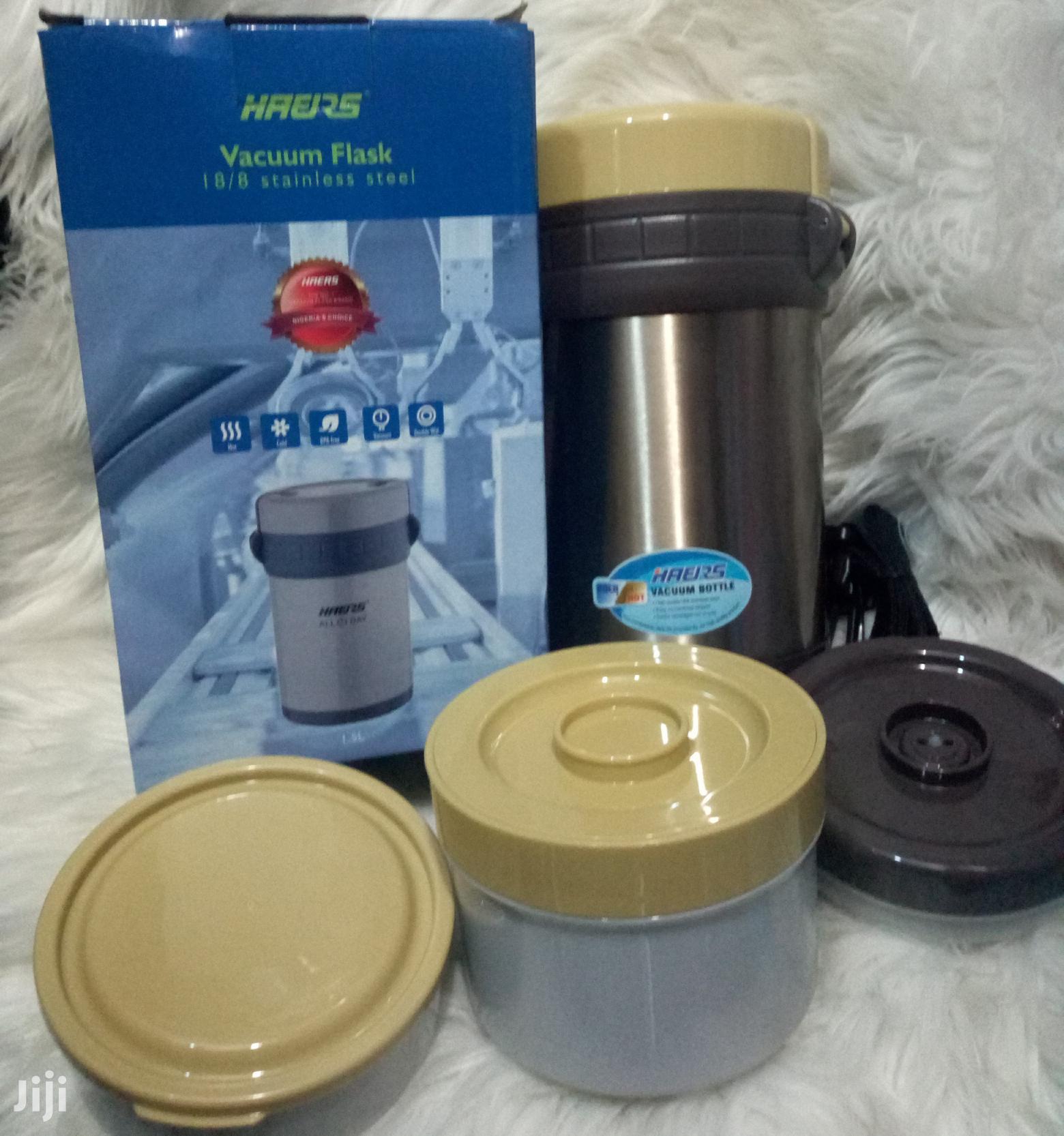 Haers Vacuum Foodflask- 1.5ltr   Babies & Kids Accessories for sale in Ikeja, Lagos State, Nigeria