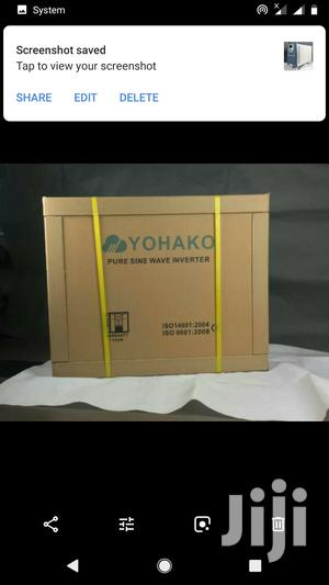 5kva Yohako Inverter 24v | Solar Energy for sale in Kaduna State, Kachia