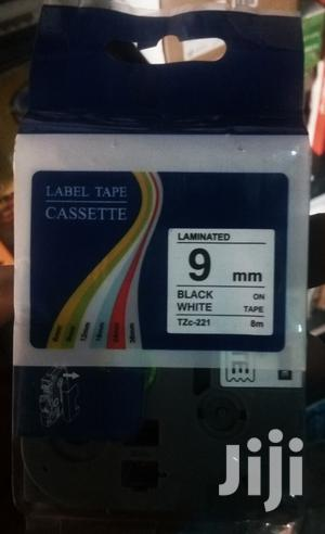 Brother Labelling Tape TZE-621 Yellow/Black 9 Mm | Computer Accessories  for sale in Lagos State, Ikeja