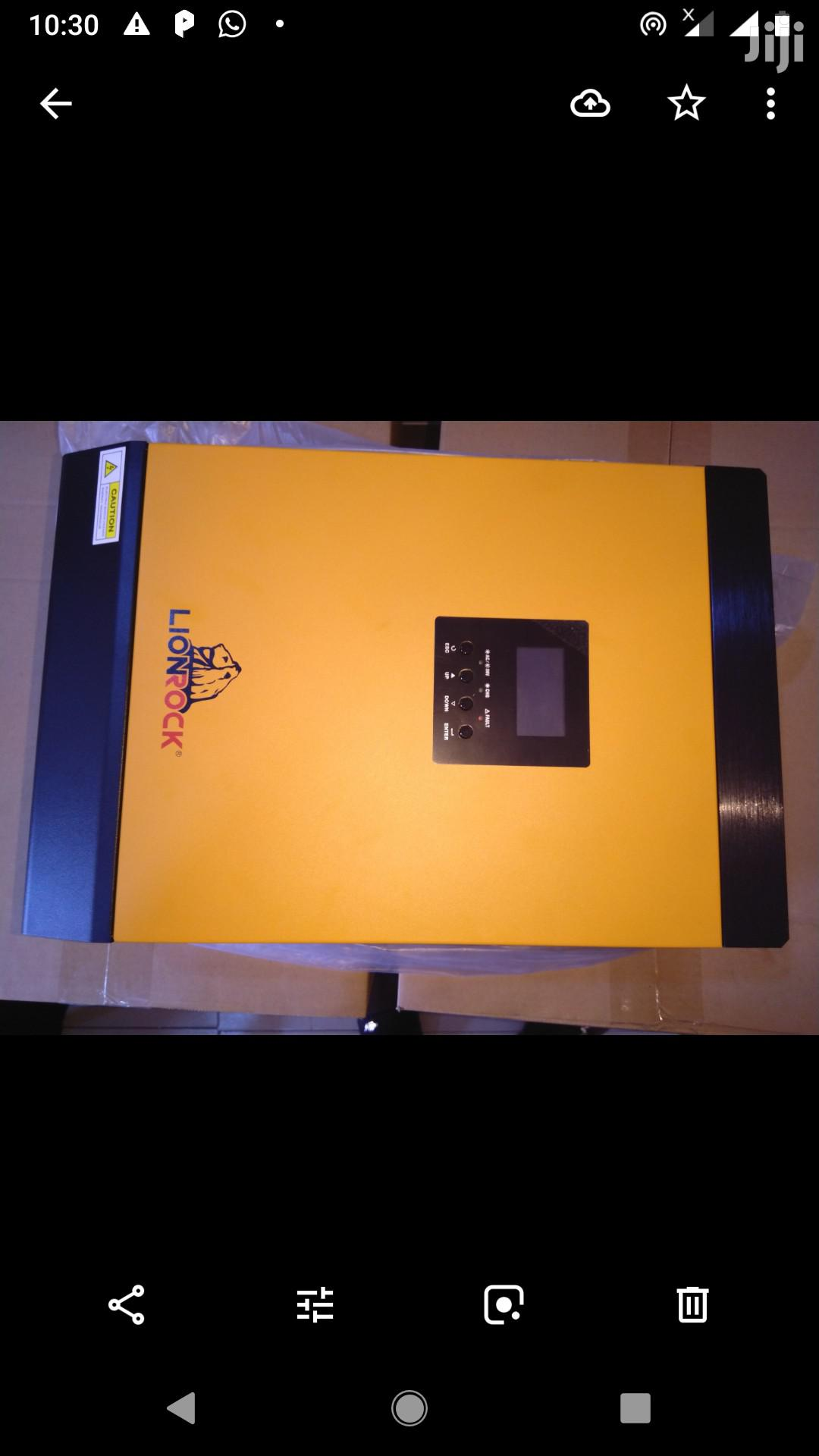 5kva Lion Rock Inverter With 60A MPPT Charge Controller