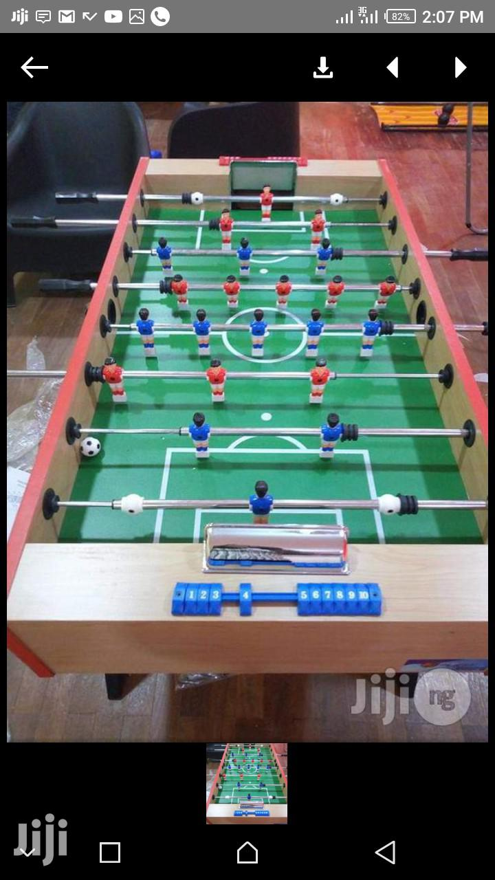New Soccer Table