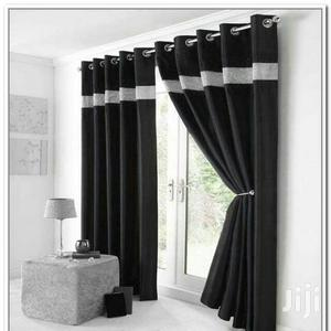 Blackout Curtain Black Living Room | Home Accessories for sale in Lagos State, Yaba