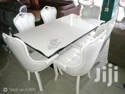 Quality Marble Dining Table With Six Sitter | Furniture for sale in Lagos State, Ojo