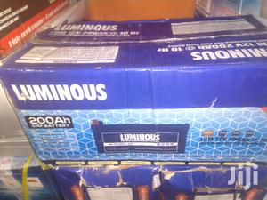 200ah Indian Luminous Battery   Solar Energy for sale in Lagos State, Ojo