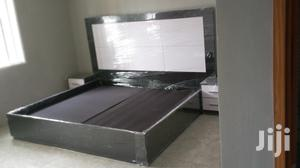 Padding Bed Frame,,6*6 With 2 Bed Side   Furniture for sale in Lagos State, Ipaja