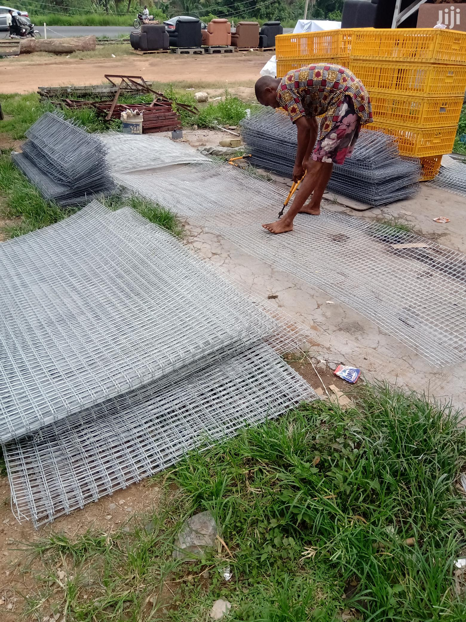 Battery Cage For Birds | Farm Machinery & Equipment for sale in Egbeda, Oyo State, Nigeria