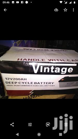 Vintage 12v/200ah Deep Cycle Battery | Solar Energy for sale in Lagos State, Ojo