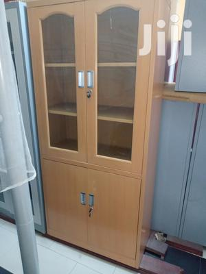 Imported Best Quality Half Glass Metal Cabinets | Furniture for sale in Lagos State, Gbagada