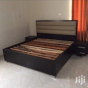 Bed Padding Leather,,,,6*6 With 2 Bedside   Furniture for sale in Lagos State, Lekki