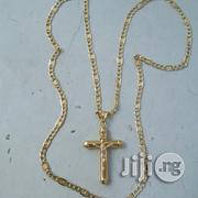 Pure 18krt Gold Necklace Levis Design | Jewelry for sale in Lagos State, Lagos Island