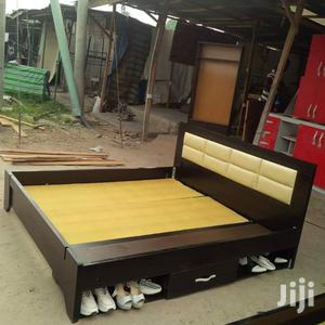 Availabe,,,Bed Frame,,,6*6,,,With,,,Under Cabinet | Furniture for sale in Lagos State, Victoria Island