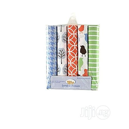 Luvable Friends 5 In 1 Baby Flannel