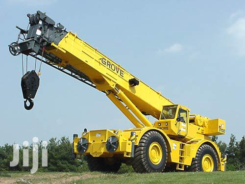 Archive: Crane And Escavator For Hiring