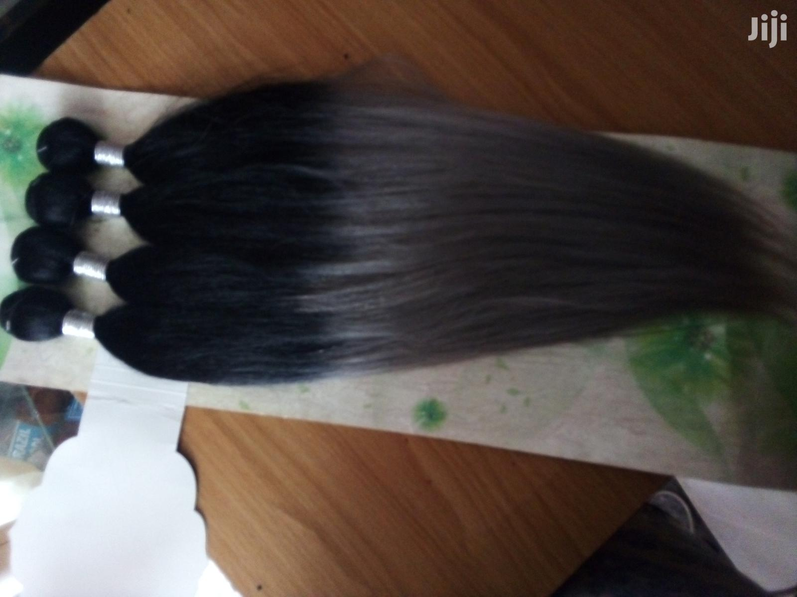 Archive: Mixed Tone Straight Hair