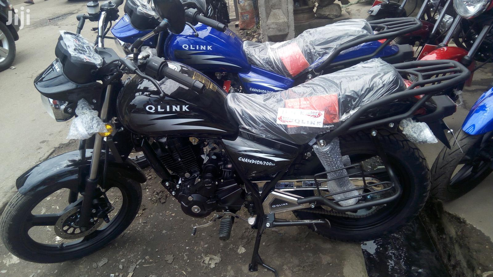 New Qlink XP 200 2020 Black | Motorcycles & Scooters for sale in Yaba, Lagos State, Nigeria